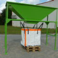 Big Bag Filling Hopper. Type TBP 13000